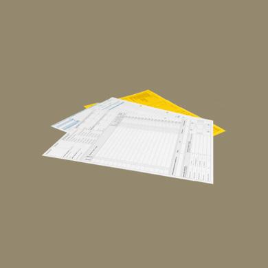 Werkorderpapier